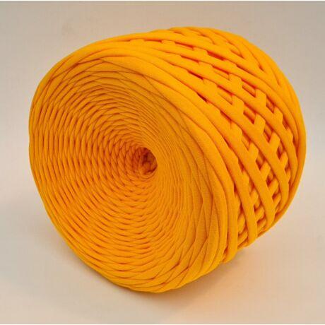 Texturált prémium pólófonal - napsárga