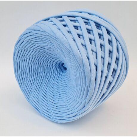 Texturált prémium pólófonal - babakék