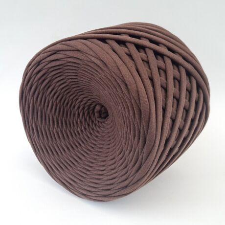 Texturált prémium pólófonal - csokoládé
