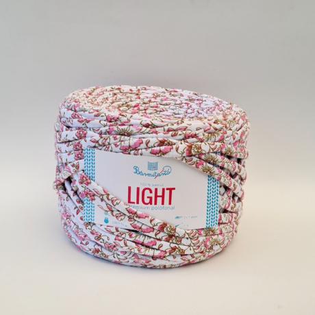 Bármitartó LIGHT prémium pólófonal - rózsaszín apró virágos