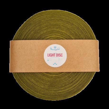 Bármitartó LIGHT DISC prémium pólófonal - Tökmag zöld